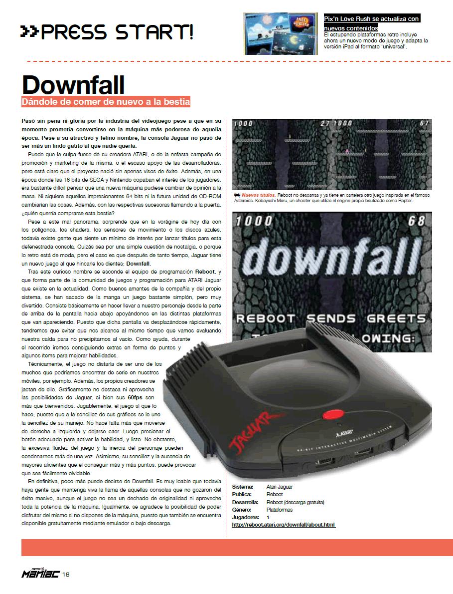 Reboot - Atari Jaguar :: Atari Falcon :: Atari ST/e